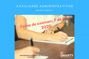 fecha examen auxiliares administrativos marratxí