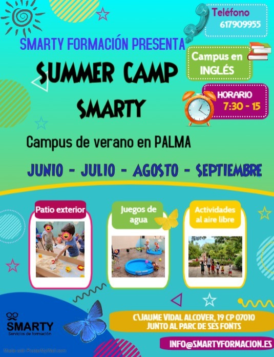 Campus de verano en Palma
